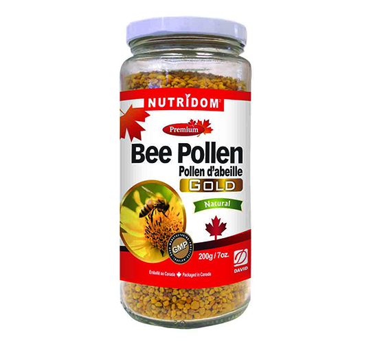 Canadian Bee Pollen Gold Small