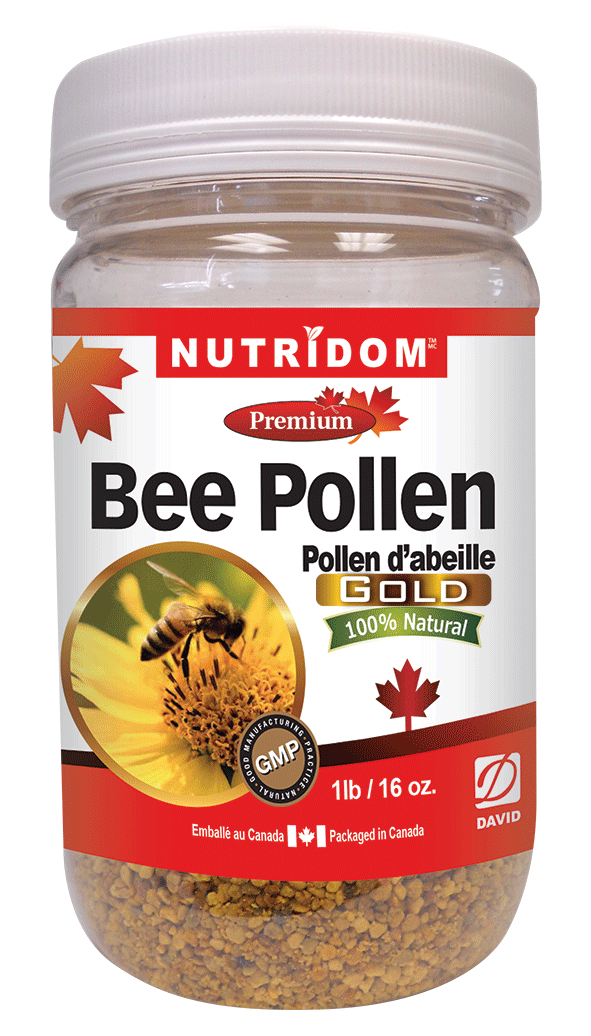 Canadian Bee Pollen Gold Large
