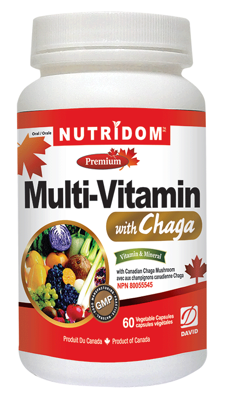 NUTRIDOM MULTI-VITAMIN WITH CHAGA