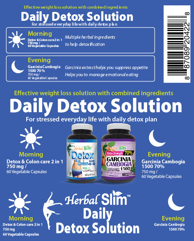 HerbalSlim Daily detox solution